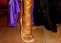 Calzature per danza mediorientale